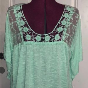 NEW Maurices Boho Floral Plus Size Flowy Top